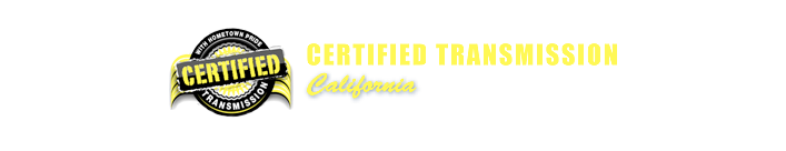 Certified Transmission California